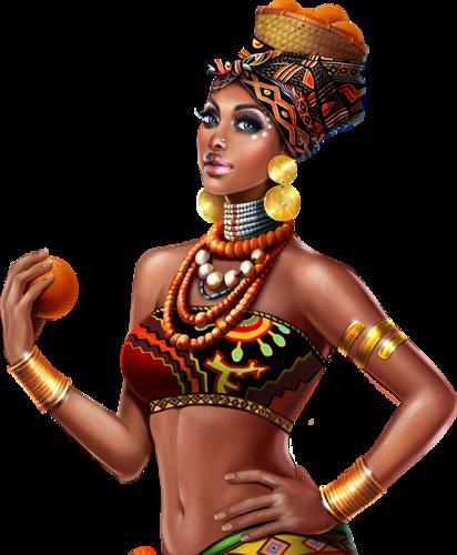 Dessin De Femme Africaine tubes femmes africaines - page 2