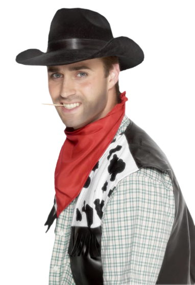 homme cow-boy