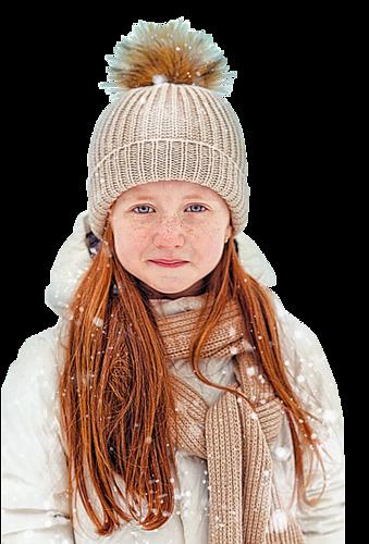 enfants hiver