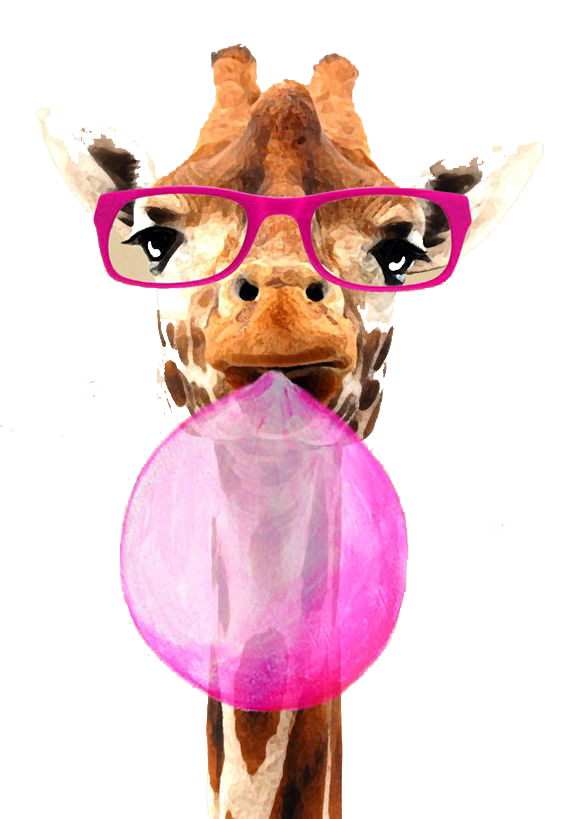 Tubes animaux droles 3 page 5 - Girafe rigolote ...